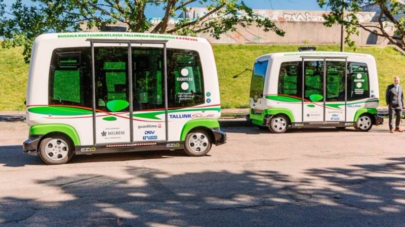 Driverless Buses Launch In Estonia With 'No Major Incidents' Reported