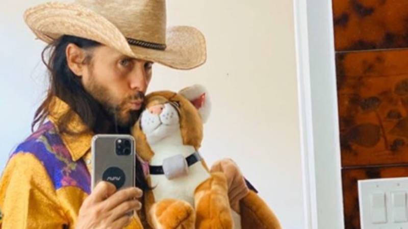 Jared Leto Got Dressed Up As Joe Exotic And Live Tweeted While Watching Tiger King