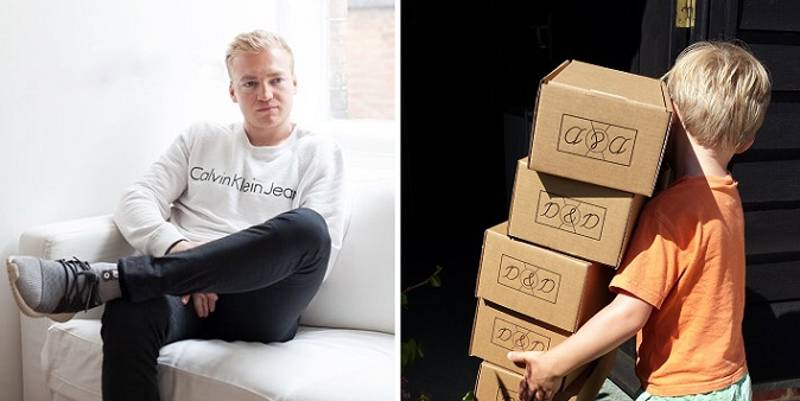 Lad Lands Fortune After Starting Business Because He Couldn't Find Shoes He Liked