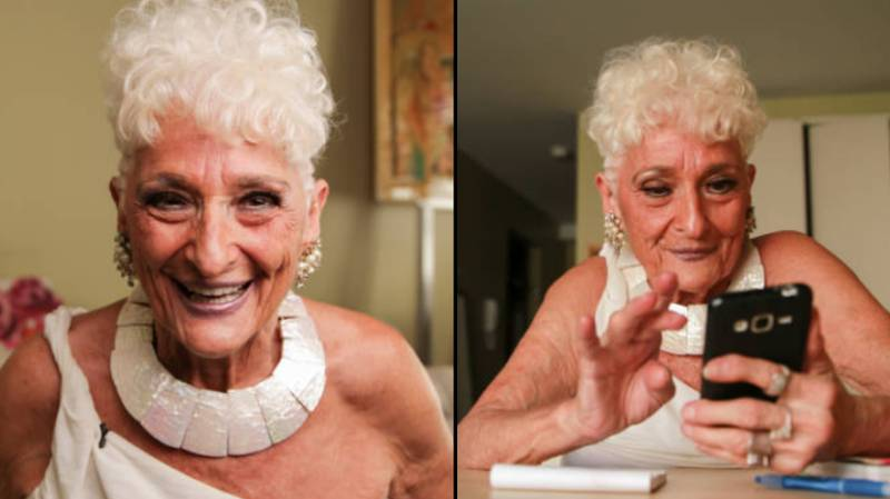 Grandma, 84, Quits Tinder To Find Love After Decades Of One Night Stands