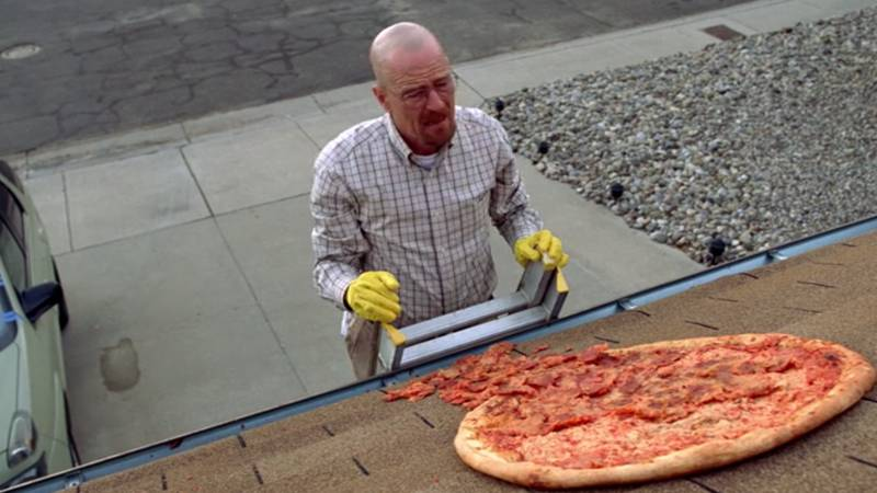 'Breaking Bad' House Fenced Off To Stop Pizza Being Thrown On Roof