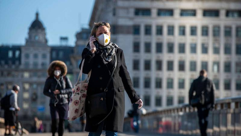 UK Government Advises Public To Wear Face Masks