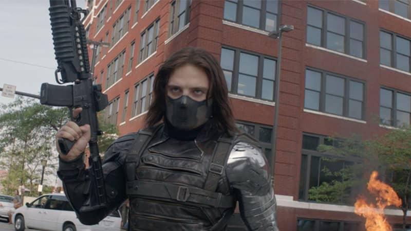 'Captain America's' The Winter Soldier Looks A Lot Like Luke Skywalker