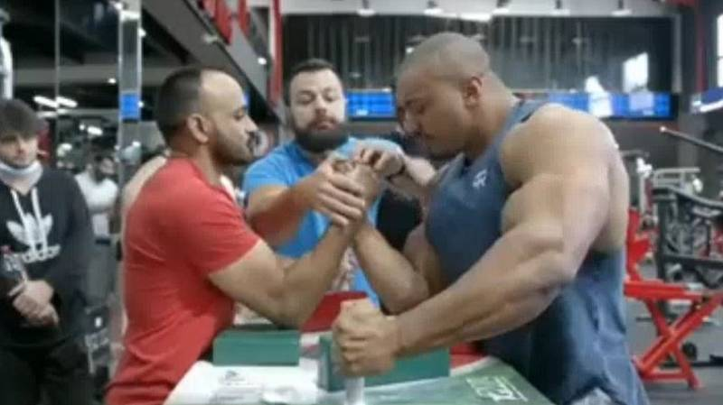 Indian Arm Wrestler Beats 'World's Strongest Bodybuilder'
