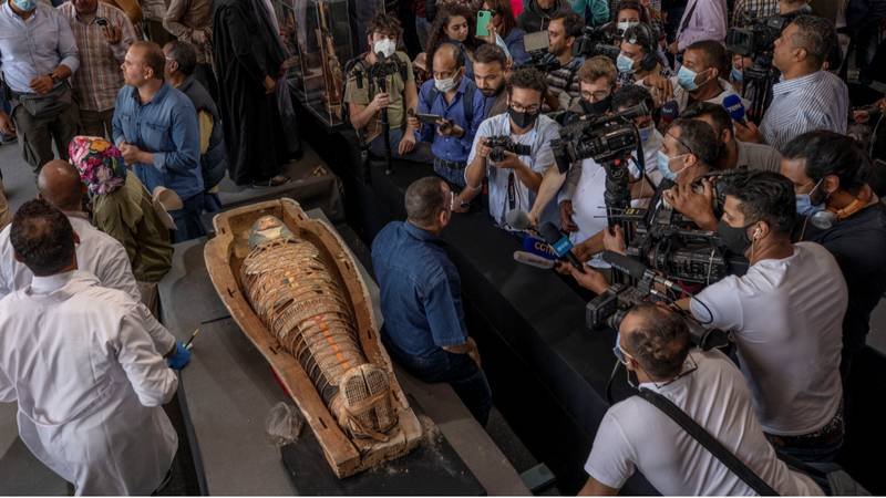 More Than 100 Egyptian Coffins Unearthed For First Time In 2,500 Years