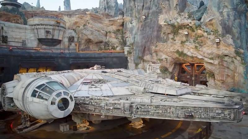 Aerial Footage Shows New Star Wars Theme Park At Walt Disney World