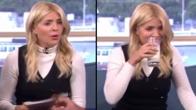 Holly Willoughby Cries Tears Of Unholy Regret After Tucking Into Spicy Morrisons Curry