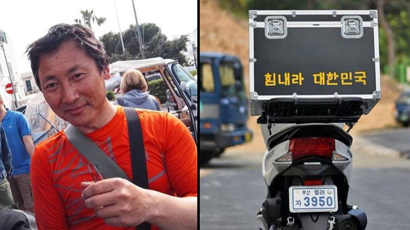 Korean Man Has Scooter Stolen After Riding 64,000 Miles To Manchester