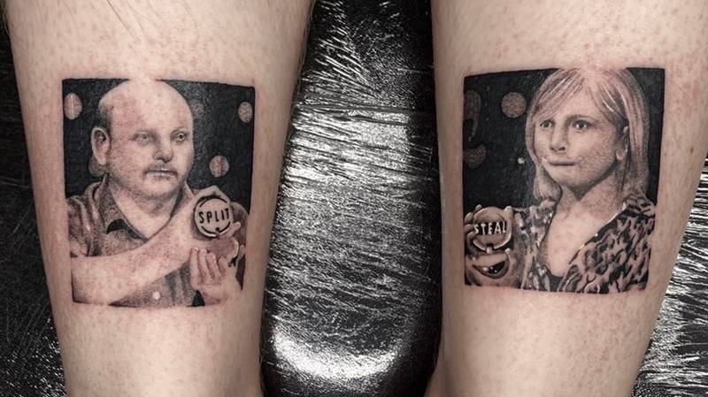 LAD Gets Tattoo Of Infamous Split And Steal Golden Balls Moment