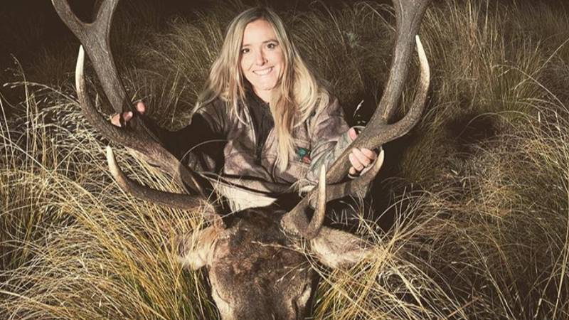 Hunter Sparks Outrage After Posting Photos Of Her Trophies
