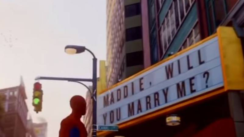 Guy Plans To Propose With Message In 'Spider-Man' Game But Gets Dumped