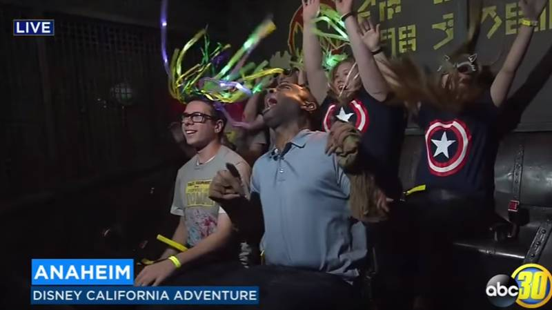 This Reporter's Reaction To A New Disneyland Ride Is The Best Thing You'll See All Day