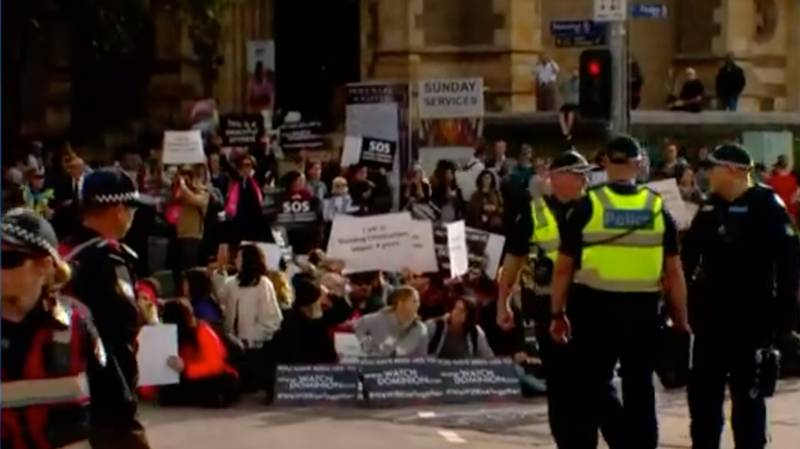Forty People Have Been Charged With 122 Offences Over Melbourne Vegan Protest