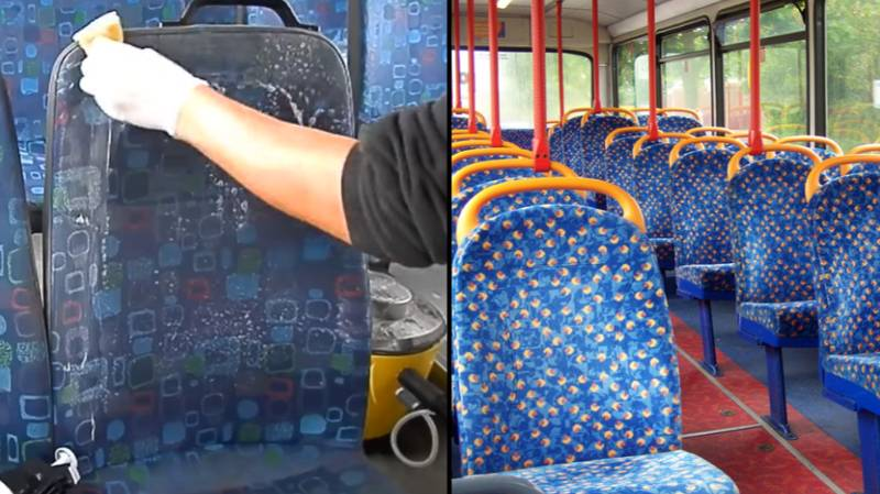 There's A Genuine Reason Why Bus Seats Are Covered In Hideous Patterns And This Proves It
