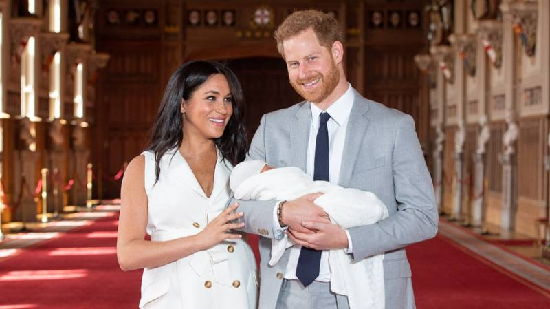 Harry And Meghan Make First Appearance With New Son