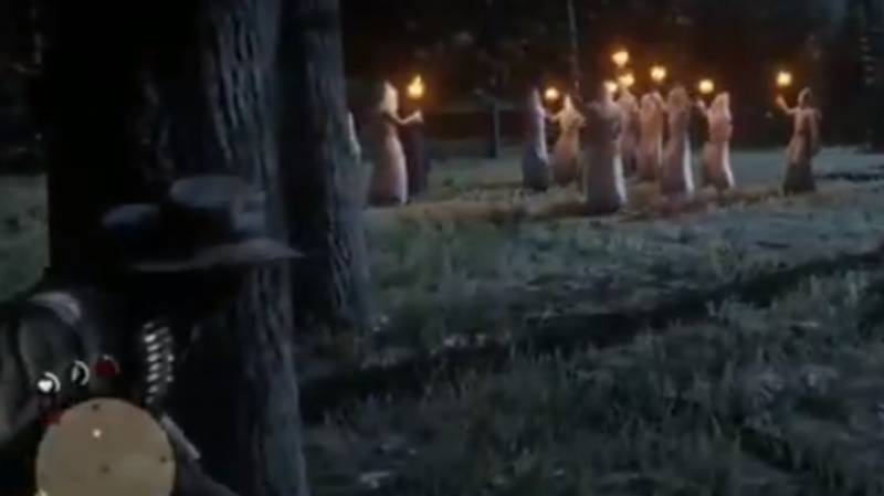 Red Dead Redemption 2 Players Are Having Fun Encountering KKK Meetings
