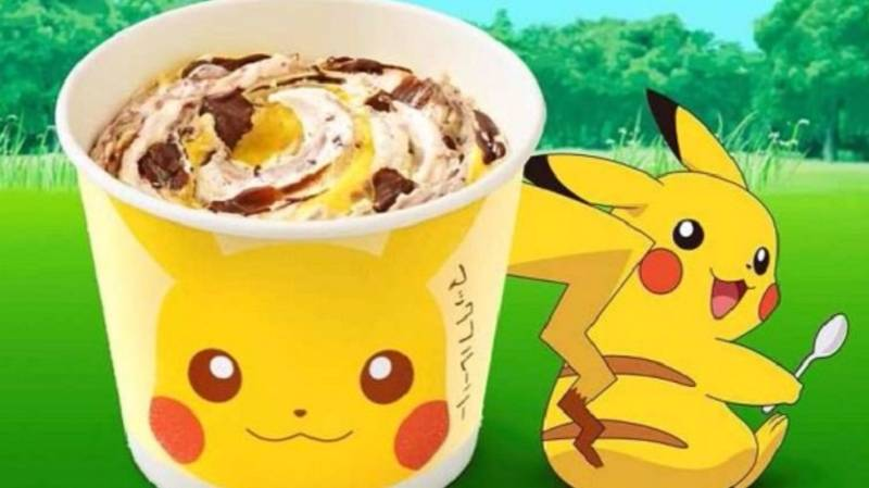 McDonald's Launches The Pokémon McFlurry In Japan