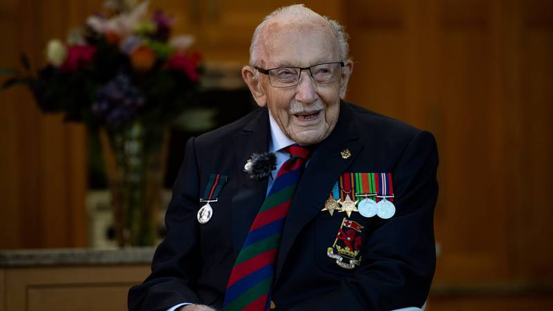 Tributes Are Flooding In Following The Death Of Captain Sir Tom Moore