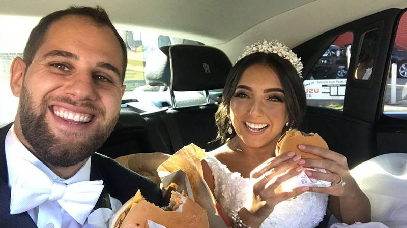 Couple Hand Out Hundreds Of McDonald's Cheeseburgers At Wedding To Surprise Guests