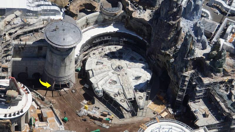 Pictures Show New Star Wars Theme Park At Walt Disney World