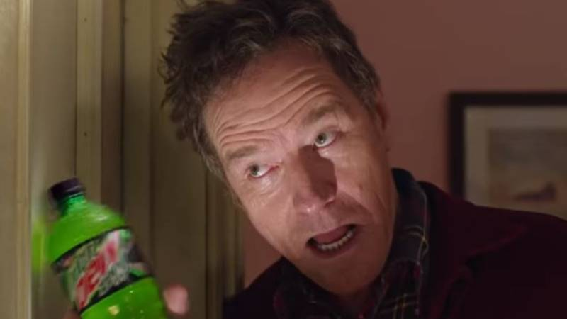 Bryan Cranston Recreates The Shining For Mountain Dew Super Bowl Advert