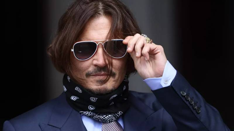 Johnny Depp Says 2020 'Has Been Hard' As He Posts Christmas Message To Fans