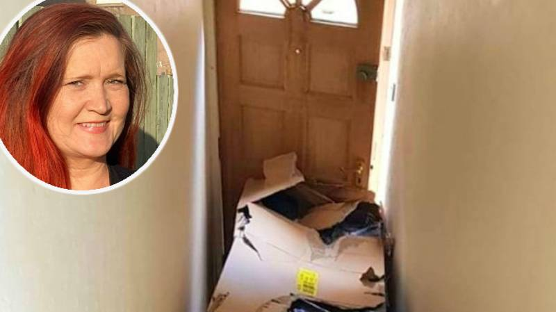 Woman And Son 'Trapped' In Home For Two Days After Argos Delivery Men Block Door With Sofas