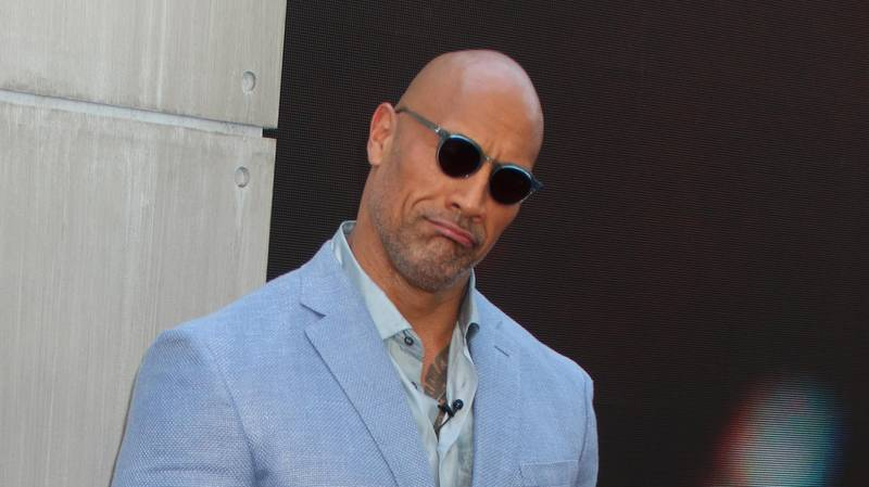 The Rock Sings To His Daughter And She Takes A Big Dump