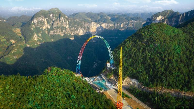 World's Biggest Swing With Speeds Of Up To 80mph Opens In China