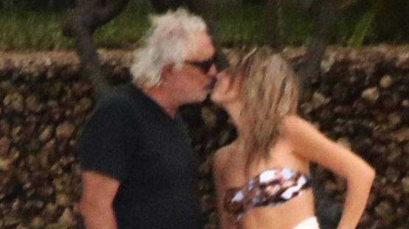Ex-Formula One Boss Flavio Briatore, 69, Pictured With New 20-Year-Old Girlfriend