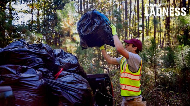 LAD Has Picked Up Over 7,000 Bin Bags Of Litter And Wants To Do It Full Time
