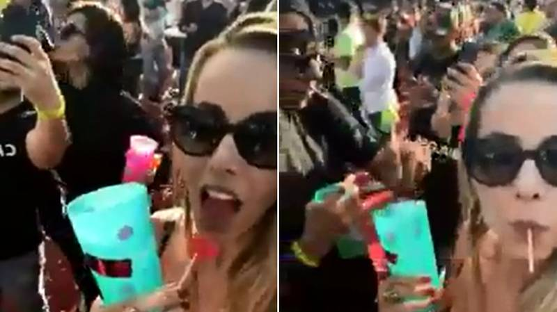 Woman Captures Guy Appearing To Slip Something In Her Drink