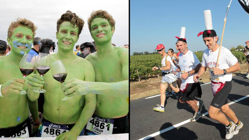 Marathon Where You Drink Wine And Eat Cheese Along The Way Is Back