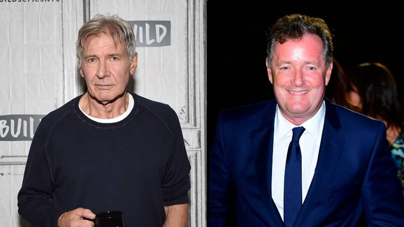 Harrison Ford Is Open To Giving Piers Morgan A 'Left Hook'