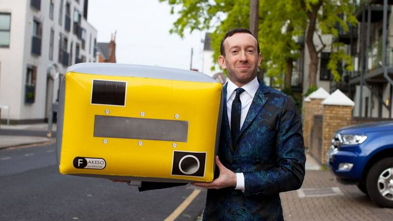 Inventor Could Get Seven Years In Jail Because Of His Inflatable Speed Cameras