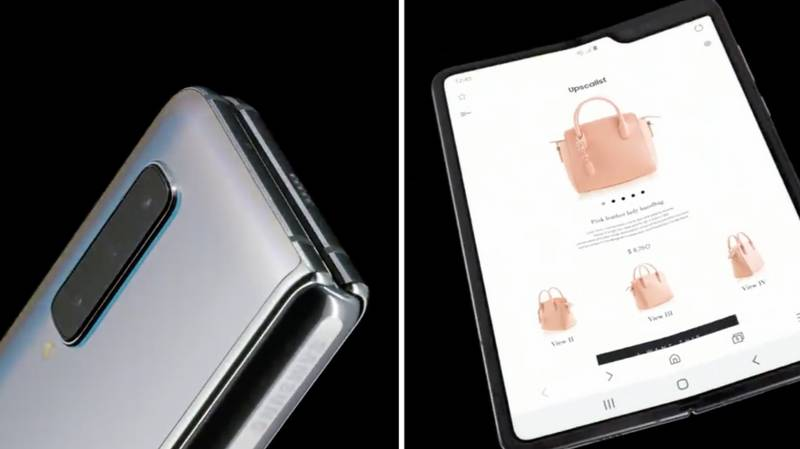 Samsung Unveils First Foldable Smartphone