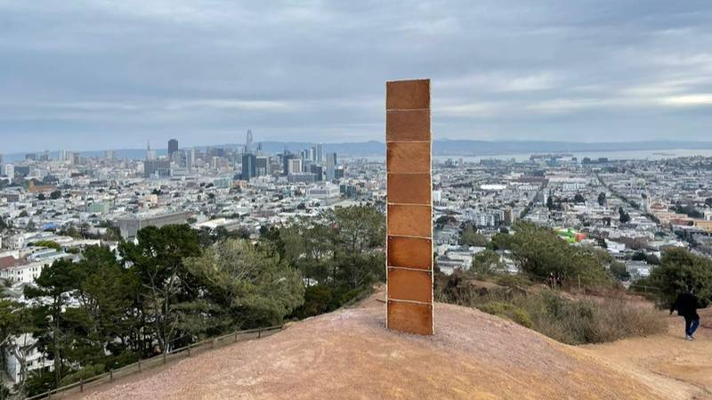 Mysterious Monolith Made Out Of Gingerbread Appears In USA