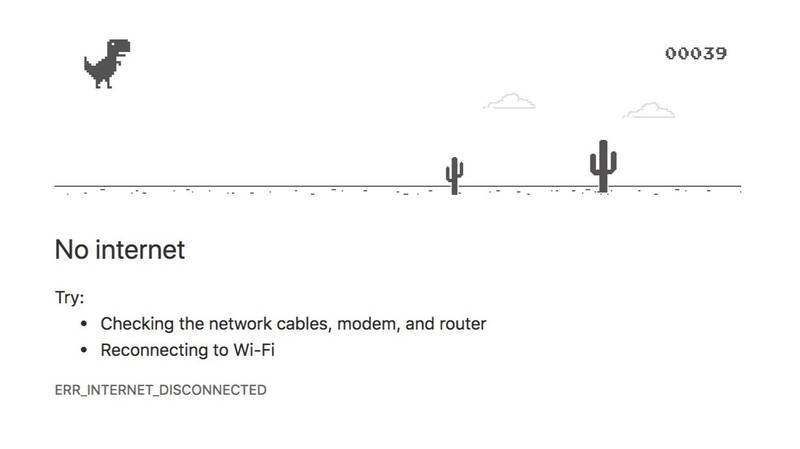 People Are Still Discovering That Google Chrome No Internet Dinosaur Is A Game