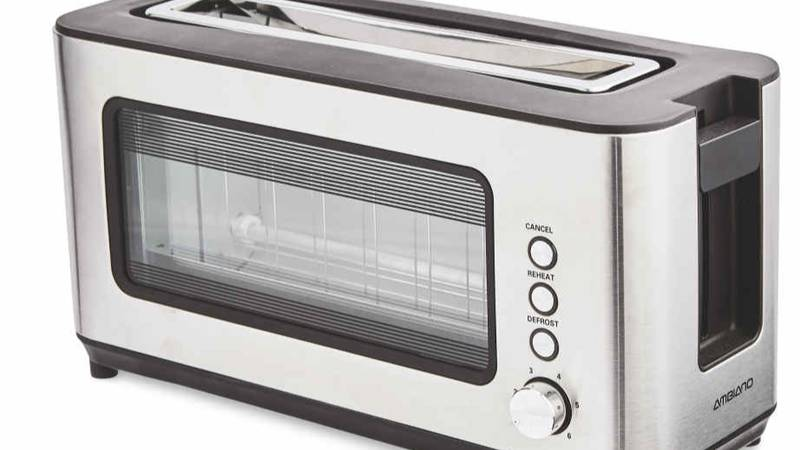 Aldi Is Selling Glass Toasters So You Can Get The Perfect Colour