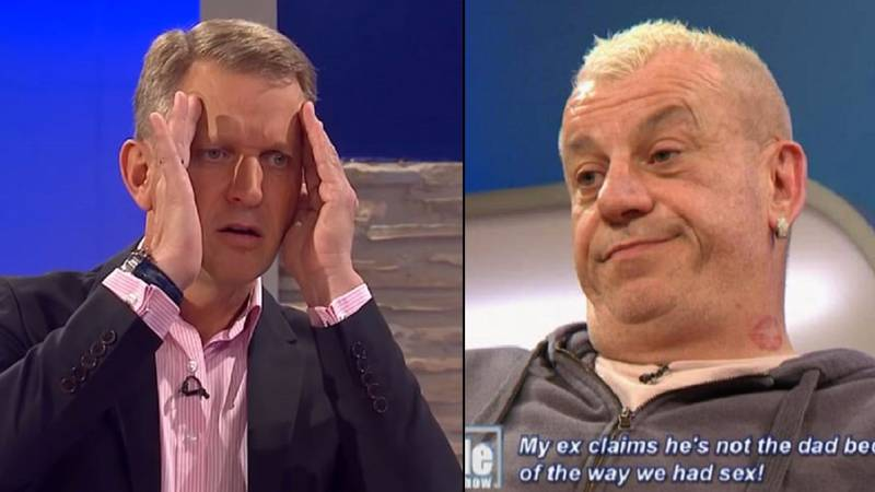 Jeremy Kyle Guest Says Kid Can't be His Because Woman Went On Top
