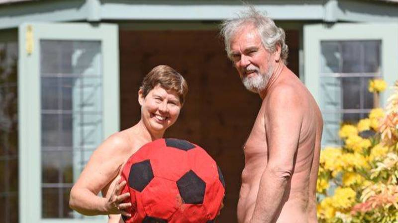 Naturist Couple Are Encouraging People To Try Being Naked During Lockdown