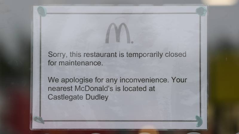 West Midlands McDonald's Closes After Five Staff Test Positive For Coronavirus
