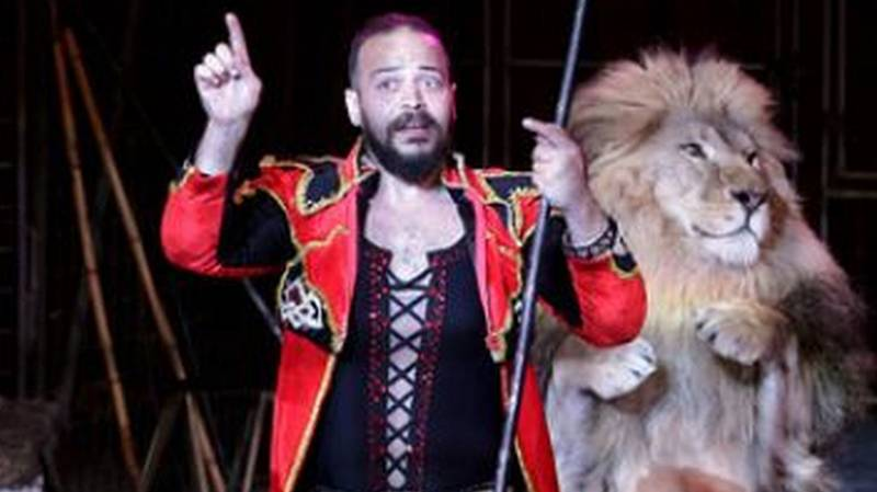 Circus Lion Attacks Trainer In Front Of Live Audience