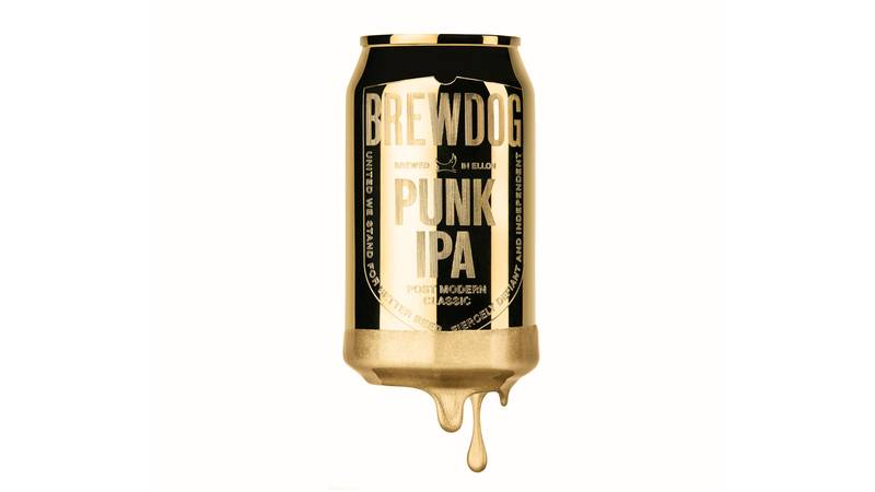 BrewDog Has Hidden 10 Solid Gold Cans In Packs Of Punk IPA
