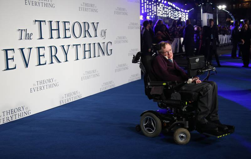 Stephen Hawking Runs Over The Feet Of People He Doesn't Like