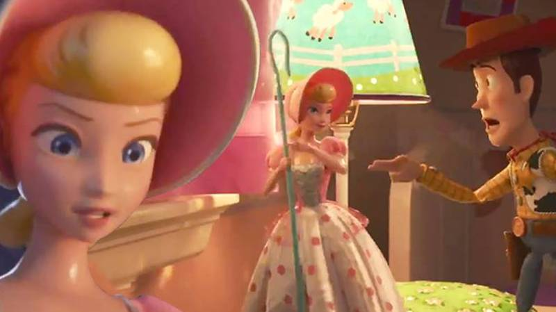 Brand New Toy Story 4 Clip Shows Woody, Bo Peep And Friends On A Mission
