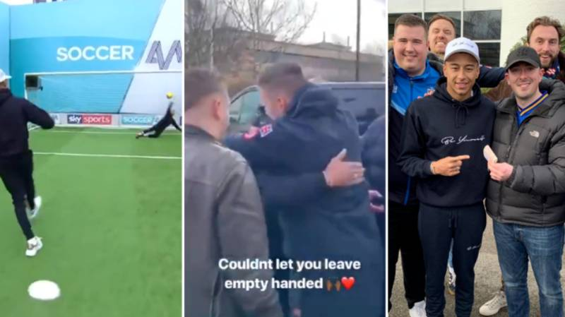 Jesse Lingard Gives Wimbledon Fans £600 After Missing Soccer AM Penalty