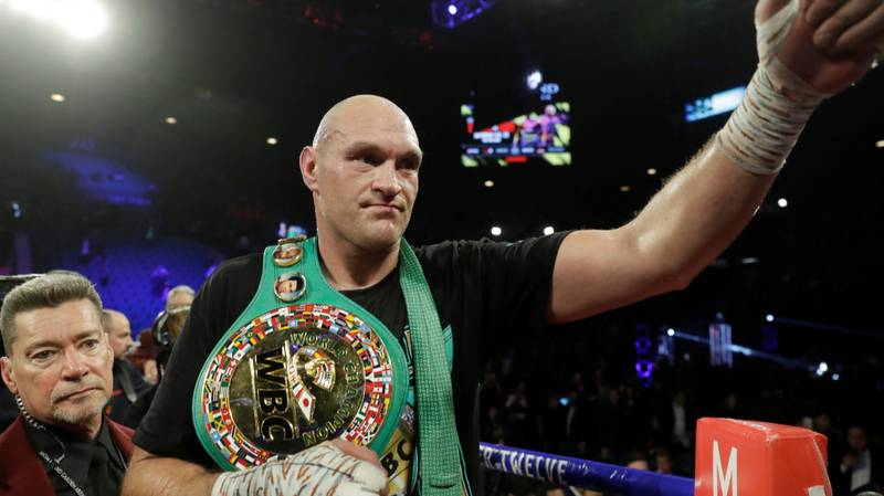 Fans Are Calling For Anthony Joshua Vs Tyson Fury Fight At Wembley