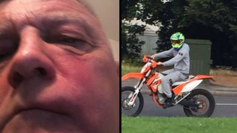 MP Left With Black Eye After Motorcyclist Throws Brick At Him