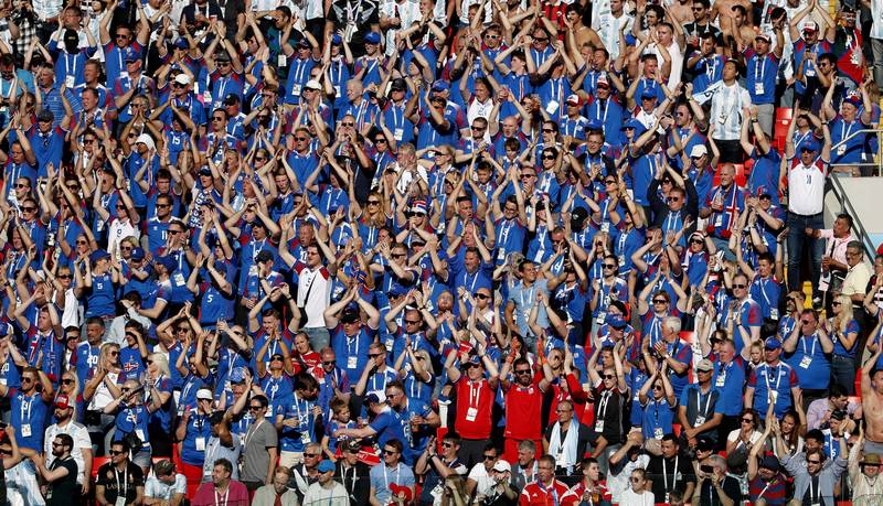 Iceland Fans Took Their Famous 'Thunderclap' Chant From Motherwell Supporters